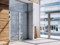 Fire Rated Partition Wall with Door