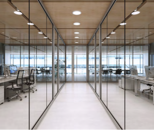 Fire Rated Glass Wall Partition